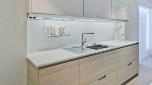 Cocina Santos Minos Line integrada en pared